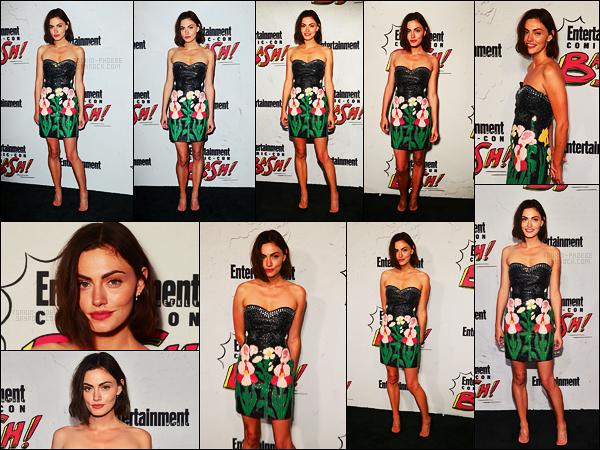 22/07/17 -  Phoebe Tonkin était à la soirée d'Entertainment Weekly's lors du Comic-Con de San Diego. J'ai eu un gros coup de coeur pour cette robe tout simplement parce qu'elle lui va divinement bien, un top, et vous, qu'en pensez-vous?