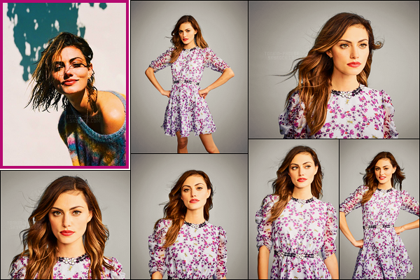 .  Phoebe Tonkin  pour So It Goes et des photos du Comic-Con de San Diego en 2016 !  .