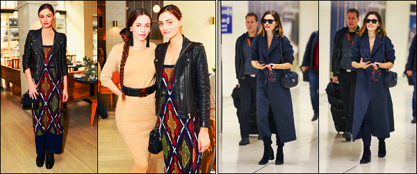 14/11/17 -  Phoebe Tonkin et son amie Hailey Gates se sont rendues au Barrie's Friendsgiving, à N-York Le 18/11, Phoebe a été photographiée alors, qu'elle se trouvait à l'aéroport LAX de Los Angeles ! Fan d'aucune de ses deux tenues ...
