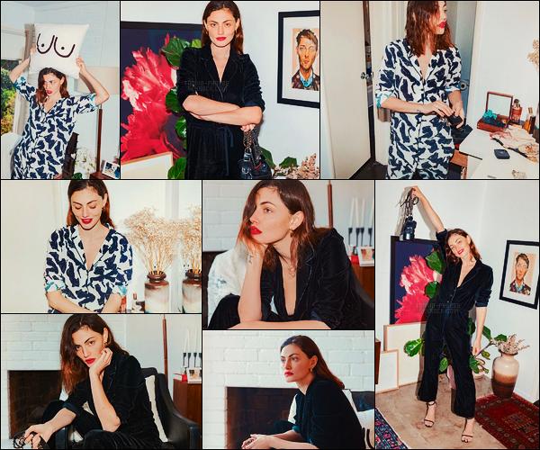 .   La belle Phoebe Tonkin a réalisé un photoshoot pour Into The Gloss, .en Avril 2018 !  .