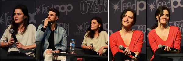22/09/18 - L'actrice Phoebe Tonkin était présente au  OZ Comic Con de Brisbane, pour son premier jour ! Le lendemain Phoebe était présente pour son deuxième jour. Malheureusement les photos n'étaient pas nombreuses, elle est mignonne.