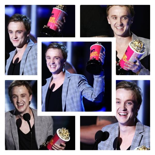 Tom a remporté l'award du meilleur méchant au MTV Movie Awards 2010!