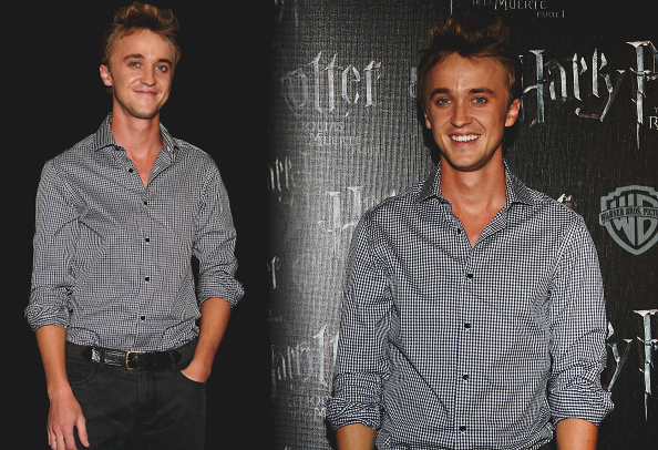 Tom Felton au Mexique