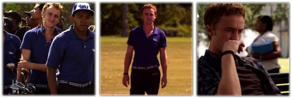 "Photos de ""From the Rough"", le prochain film de Tom Felton"