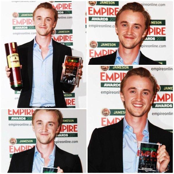 Tom Felton aux EMPIRE AWARDS 2011