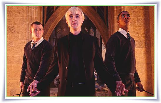 Photos promo de Drago Malefoy pour Harry Potter et les Reliques de la Mort (Partie 2)