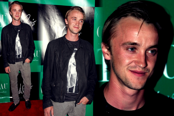 Tom Felton à l'anniversaire de Levi Johnston