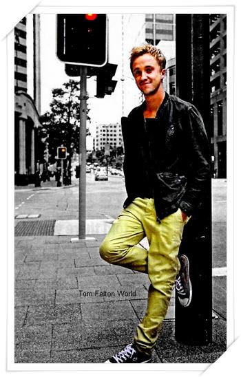Tom Felton au Supanova à Perth