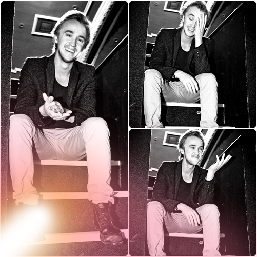 "Nouvelles photos de Tom Felton pour le photoshoot du Magazine ""Who's Jack"""