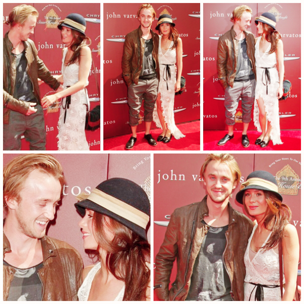"Tom Felton à l'évènement ""John Varvatos 9th Annual Stuart House Benefit"" à Los Angeles"