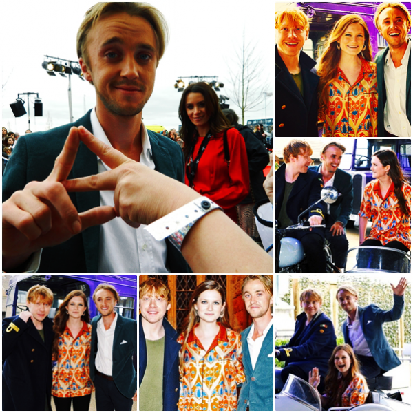 Tom Felton à l'ouverture des studios Harry Potter de la Warner Bros à Londres (photos + vidéos [partie 1])