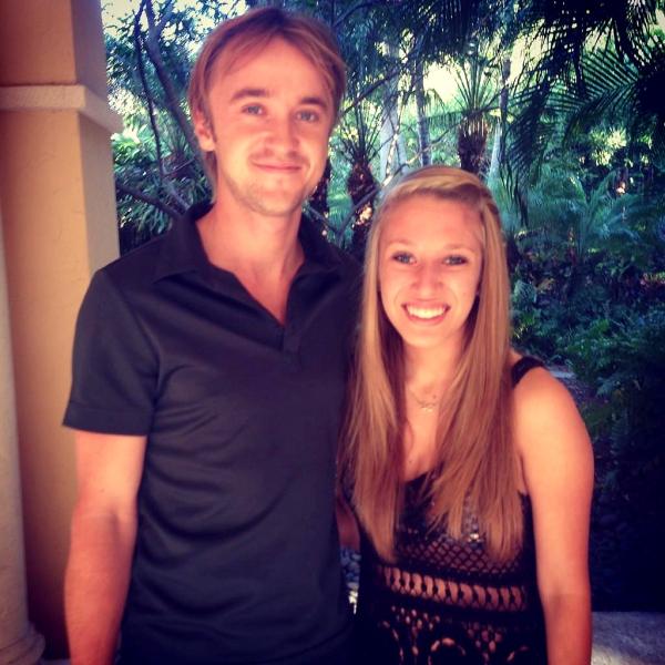 Tom Felton est à Miami!!