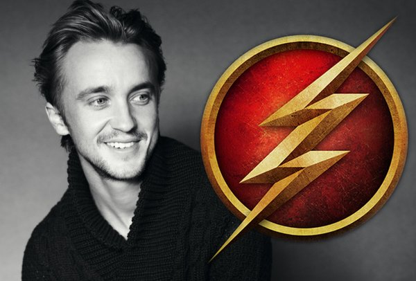 Tom Felton dans la série The Flash