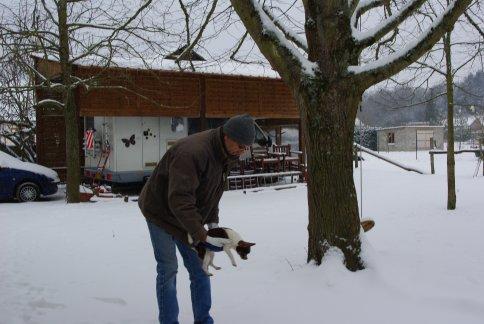 <<<<< EDGAR dans la neige >>>>>