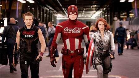 Superheroes In Advertising