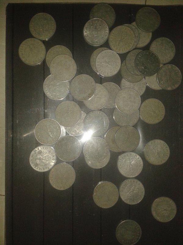 pièces de monnaie allemande ww2