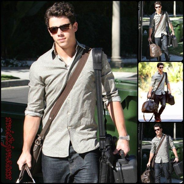 Nick qui part de Los Angeles le 16.09