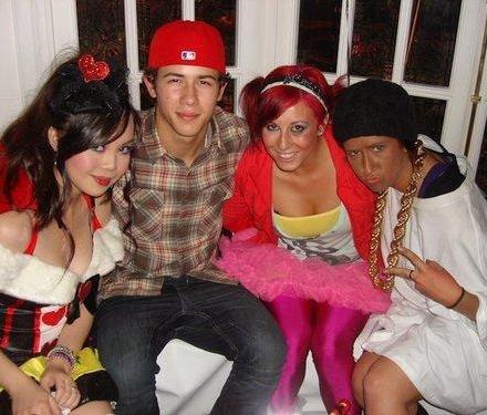 Nick à la soirée d'Halloween le 31.10