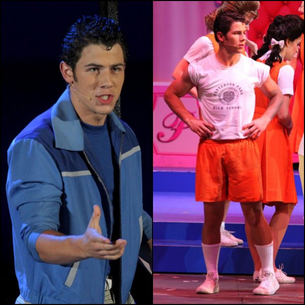 Nick dans Hairspray le 05.08