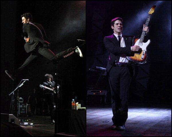 Concert de Nick à Sao Paulo le 21.09