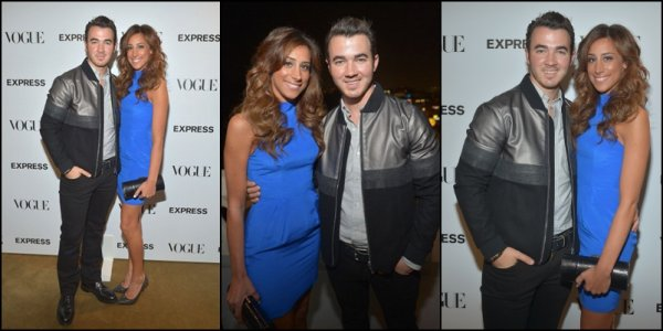 "27.09.2012 Joe et Kevin ainsi que Danielle Jonas se sont rendu à la ""The Scenemakers"" party de Express & Vogue au Chateau Marmont  à L.A"