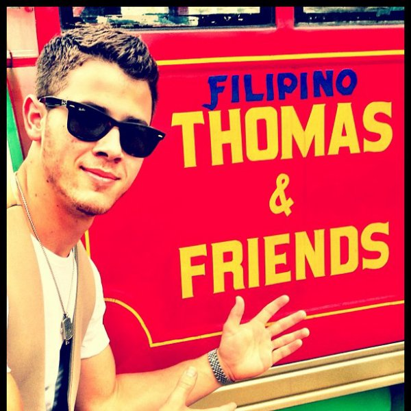 18.10.2012 Photos de l'nstagram de Nick