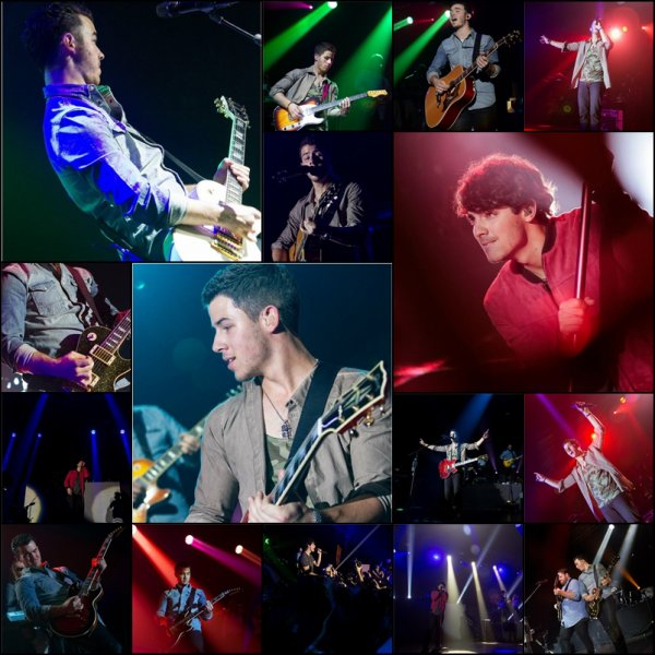 20.10.2012 Photos du concert des Jonas Brothers à Cebu, Philippines