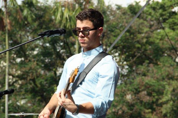 22.10.2012 Soundcheck des Jonas Brothers à Singapour