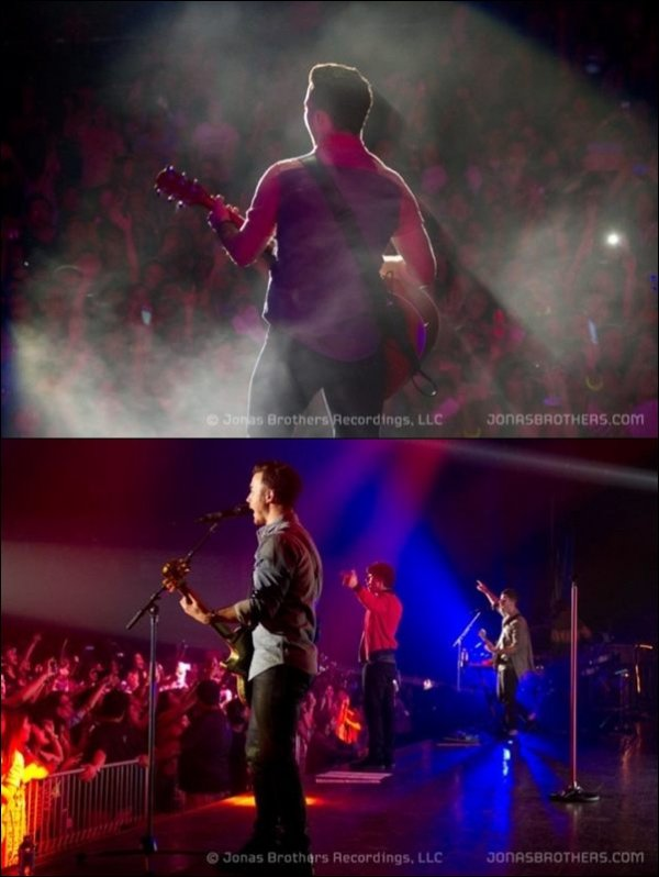 Photos de l'application Jonas Brothers + Photo de l'Instagram de Joe