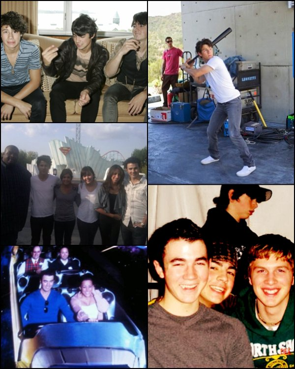 03.11.2012 Joe & Nick ont été vu à l'hôtel St Regis + Photos rares des Jonas Brothers