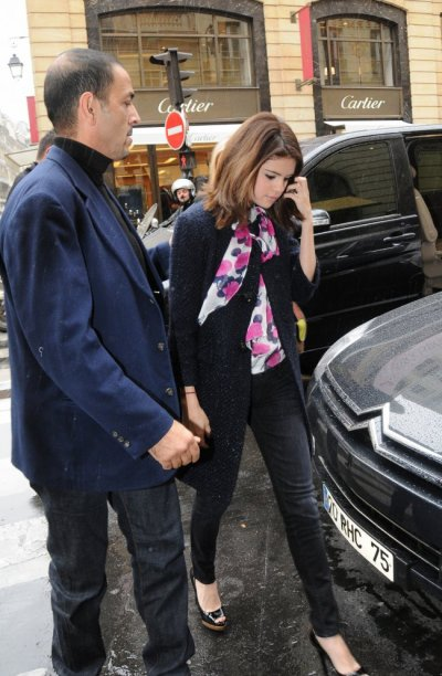 Selena Gomez : elle est arrivée en France !!!