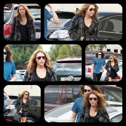 09.09.10 Miley et son frère Braison à Studio City