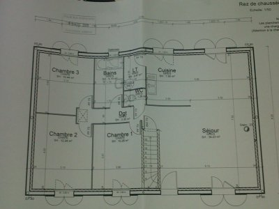Plan de la construction blog de maisonsebetade for Prix construction maison 90m2