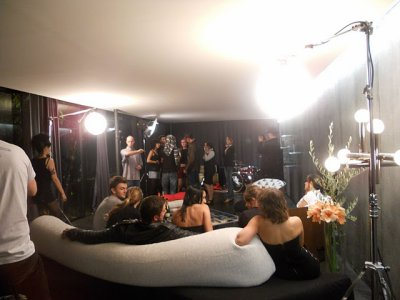 "Tournage du clip "" Stand up & Shout "" ==> Poetic Fuckers"