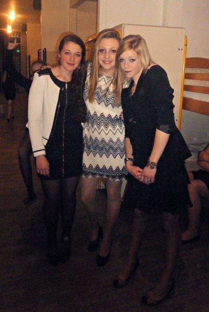 Morgane, Charlène et Morgane !