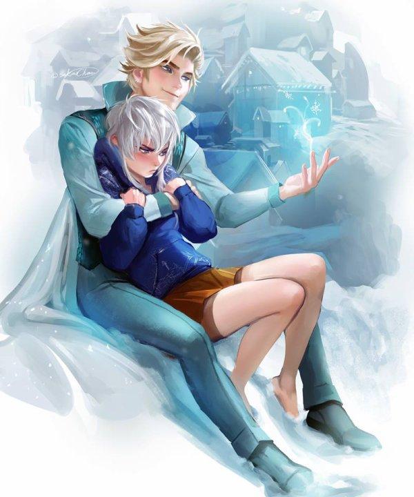 Elsa & Jack Frost Adapt'