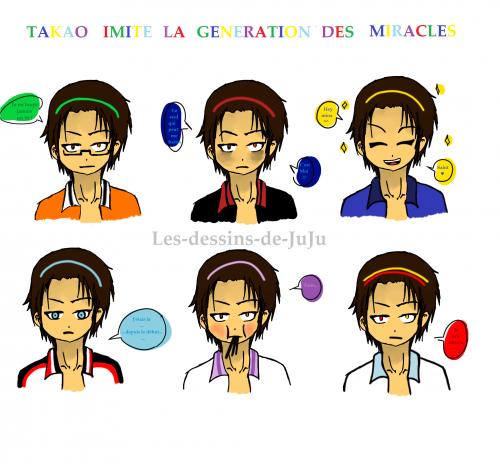 Takao's cosplays