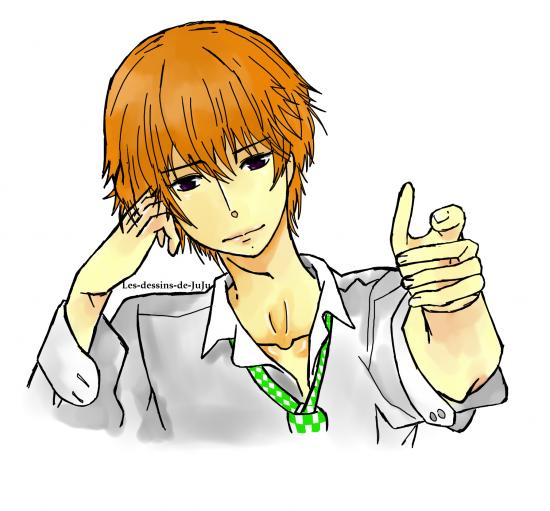 Beau gosse en vue => Natsume !