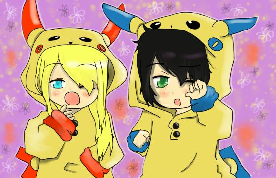 Deux petits n'enfants ~(^3^)~