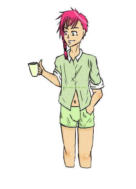 30 day Oc challenge→ Jour 20 : Pyjama