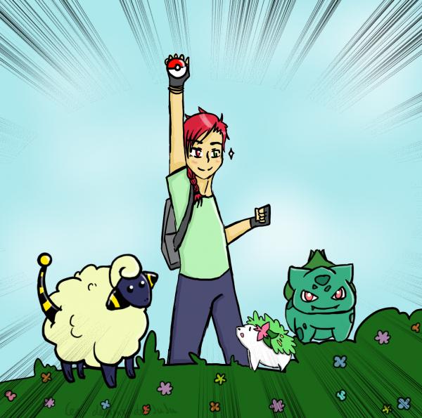 30 day Oc challenge→ Jour 27: Pokémons