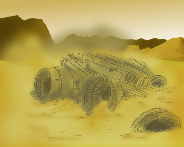 Challenge #2→ Jour 7 : Scifi in the desert