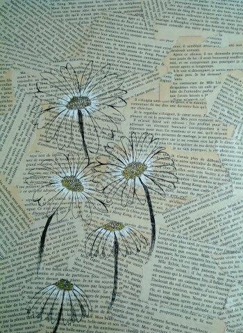 Des fleurs et des lettres