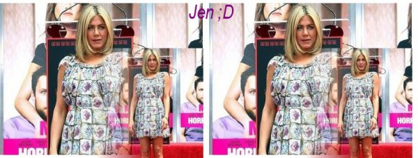 Jen s'habille pour l'été