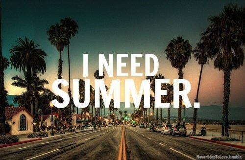 Dear Summer , where are you?