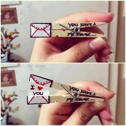 You have A message ! *__*