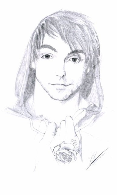 portrait Alex Gaskarth all time low