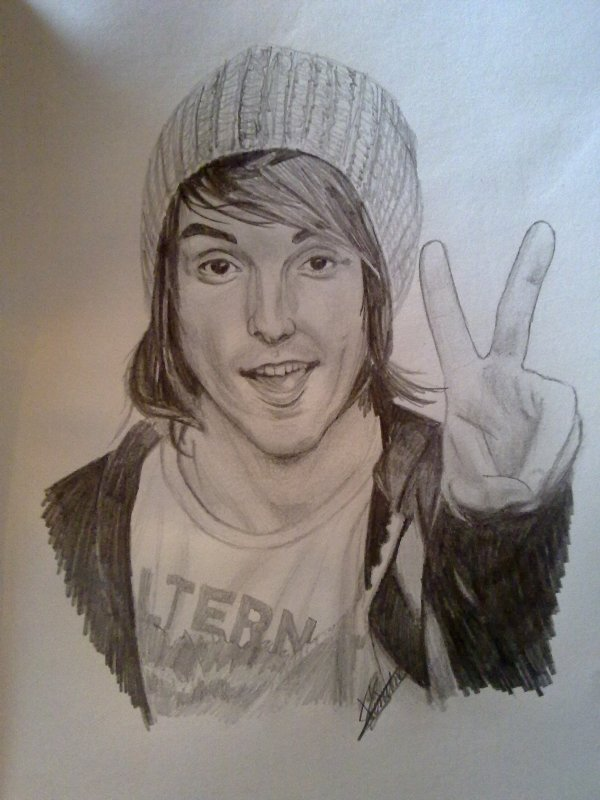 portrait Alex Gaskarth (2) All Time Low