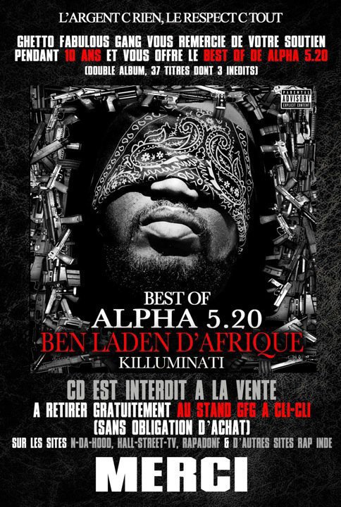 ALPHA 5.20  ben laden music killuminati  (sortie 11septembre)