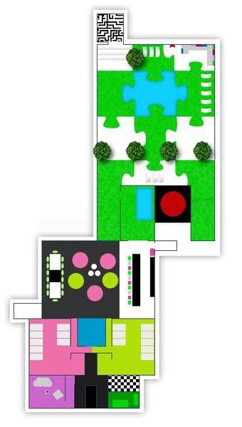 plan maison secret story 4